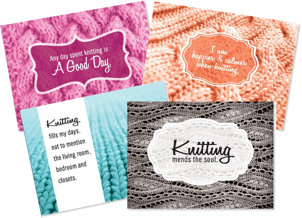 """Knotes"" & ""Crotes"" Note Card Sets Image"