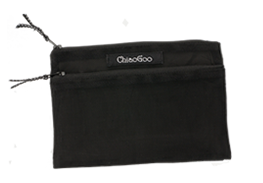 Black Mesh Accessory Pouch Image