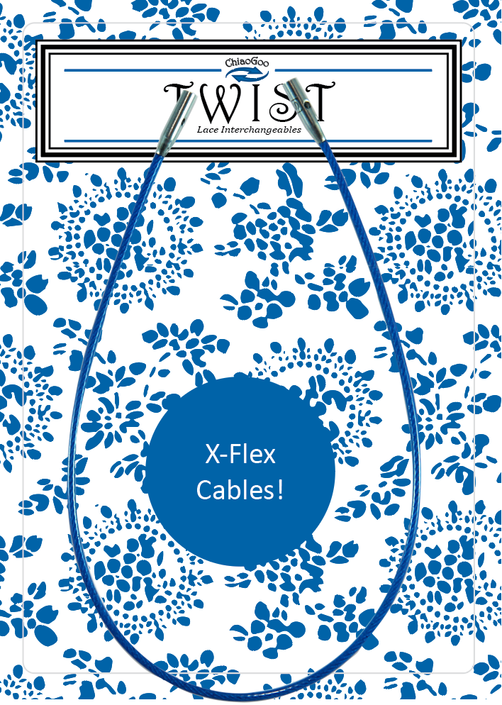 "TWIST Blue Cable 5"" (13 cm) [S] Image"