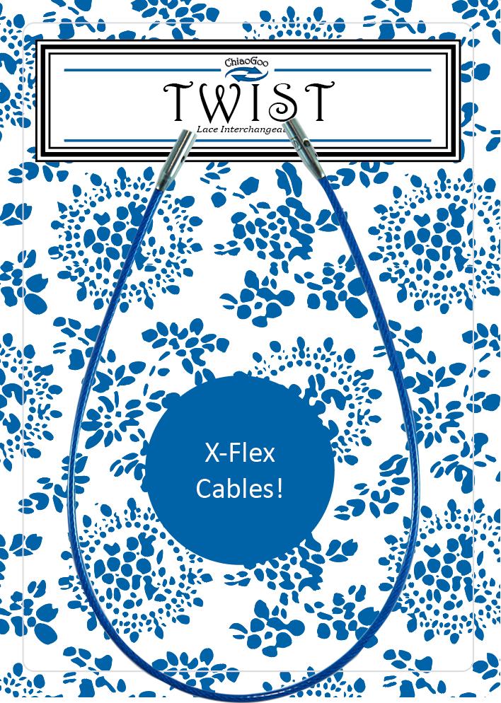 """TWIST Blue Cable 6"""" (15 cm) [S] Image"""